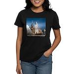 Why man invented fire Women's Dark T-Shirt