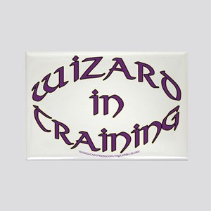 Wizard in training Rectangle Magnet