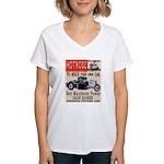 HOTRODZ Women's V-Neck T-Shirt