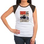 HOTRODZ Women's Cap Sleeve T-Shirt