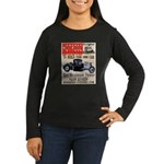 HOTRODZ Women's Long Sleeve Dark T-Shirt