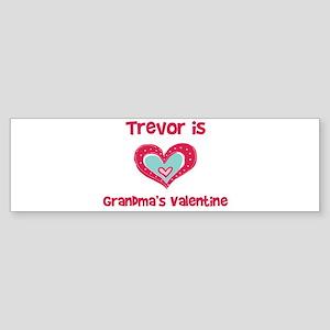 Trevor is Grandma's Valentine Bumper Sticker