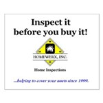 Inspect it! Small Poster