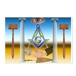 Masonic Postcards (Package of 8)