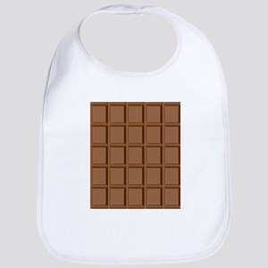 Chocolate Tiles Baby Bib