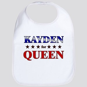 KAYDEN for queen Bib