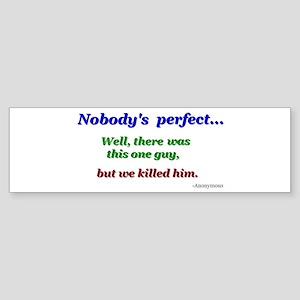 Quotes Bumper Sticker