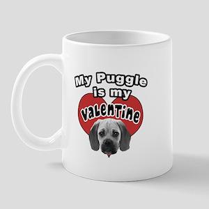 Puggle Valentine Mug