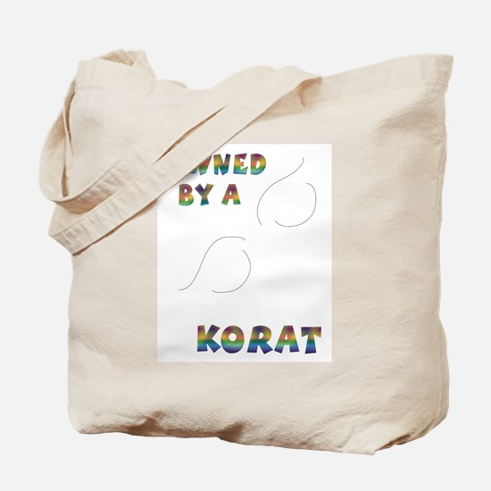 Owned by a Korat Tote Bag