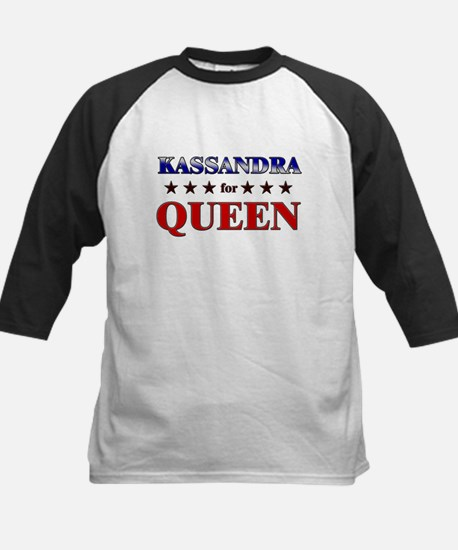 KASSANDRA for queen Kids Baseball Jersey