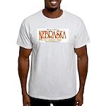 Nebraska Ash Grey T-Shirt