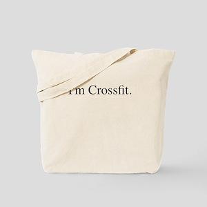 I'm Crossfit Premium T-Shirt Love Fit Tote Bag