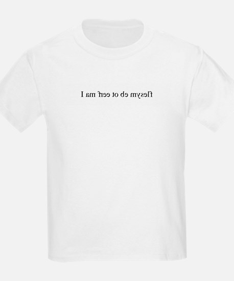 I am free to be myself (mirro T-Shirt