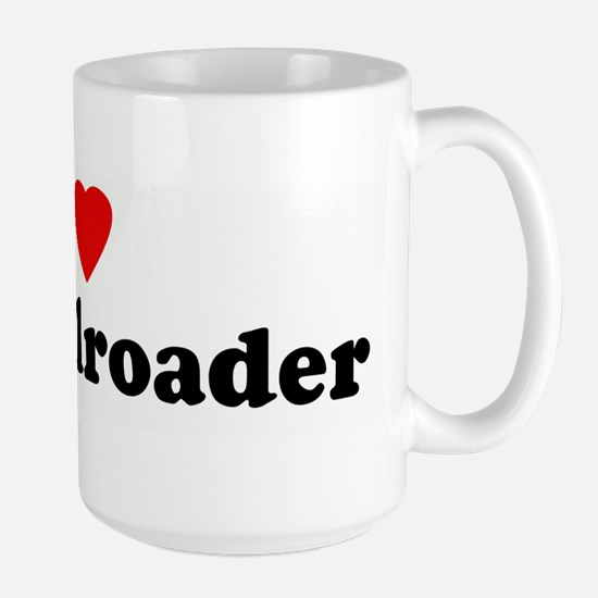 I Love My Railroader Mugs