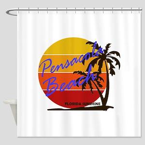 Florida - Pensacola Beach Shower Curtain