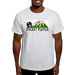 Pocket Player Ash Grey T-Shirt