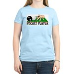 Pocket Player Women's Pink T-Shirt
