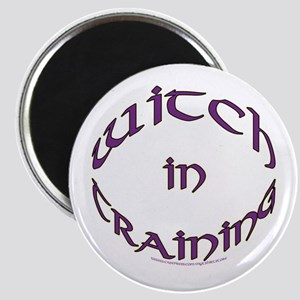 Witch in training Magnet
