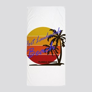 Summer destin- florida Beach Towel