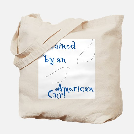 Trained by a Curl Tote Bag