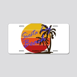 Florida - Siesta Key Beach Aluminum License Plate