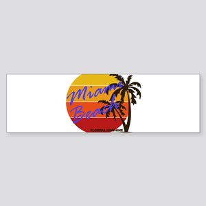 Florida - Miami Beach Bumper Sticker