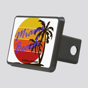 Florida - Miami Beach Rectangular Hitch Cover