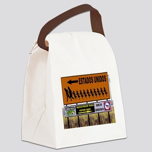 IMMIGRANTS Canvas Lunch Bag