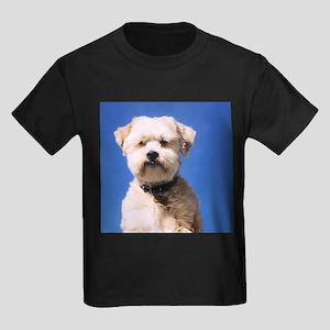 Lhasa Apso & Yorky Kids Dark T-Shirt