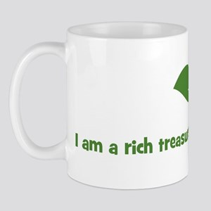 I am a rich treasure ready to Mug