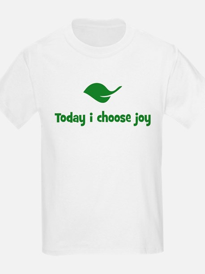 Today i choose joy (leaf) T-Shirt