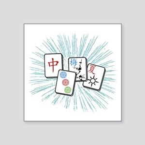 Mahjong Tile Burst Sticker