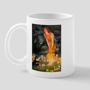 Fairies / Pomeranian (b&t) Mug