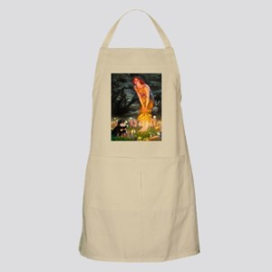 Fairies / Pomeranian (b&t) Apron