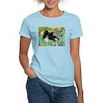 Irises / Pomeranian(bb) Women's Light T-Shirt