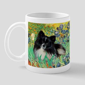 Irises / Pomeranian(bb) Mug