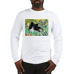 Irises / Pomeranian(bb) Long Sleeve T-Shirt