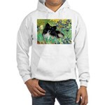 Irises / Pomeranian(bb) Hooded Sweatshirt