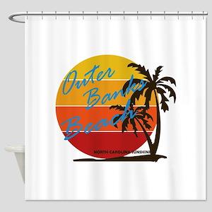 Summer outer banks- North Carolina Shower Curtain