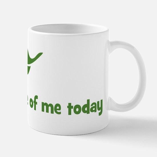 I will take care of me today  Mug