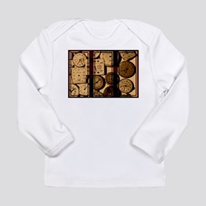 triptych vintage watch faces Long Sleeve T-Shirt