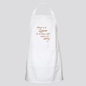 Blessed Is the Listener BBQ Apron