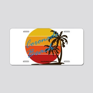 California - Coronado Aluminum License Plate