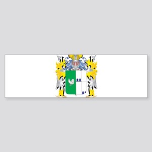 Gallo Coat of Arms - Family Crest Bumper Sticker