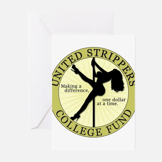 Strippers College Fund Greeting Cards (Pk of 10)