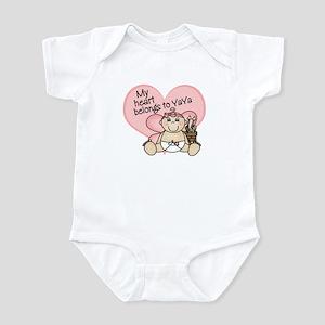 My Heart Belongs to YaYa GIRL Infant Bodysuit