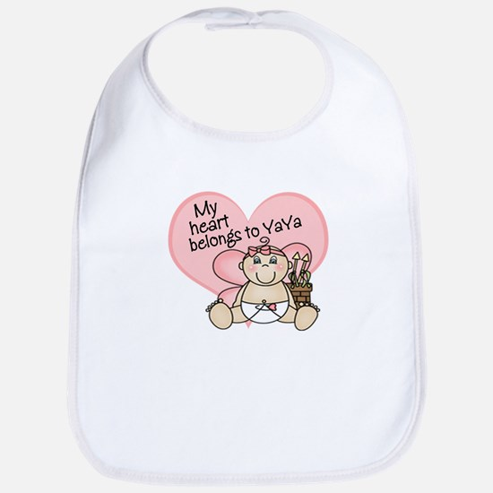 My Heart Belongs to YaYa GIRL Bib