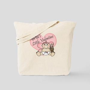 YaYa's Little Valentine GIRL Tote Bag