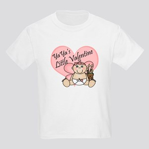 YaYa's Little Valentine GIRL Kids Light T-Shirt