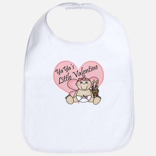 YaYa's Little Valentine GIRL Bib